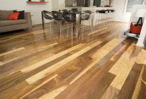 Modern Blackbutt Kitchen Floorboards Perth