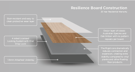 Resilience Construction infographic